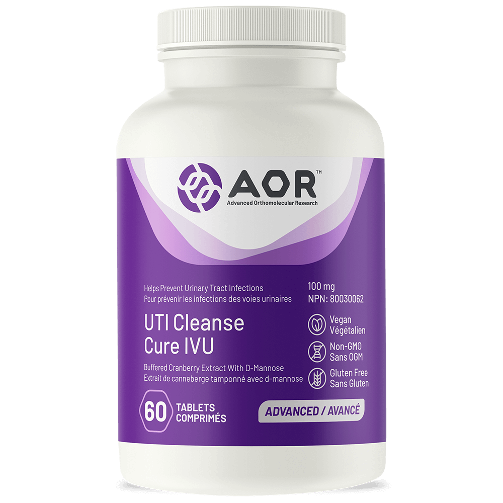 AOR UTI Cleanse w/D-Mannose - 120 tablets