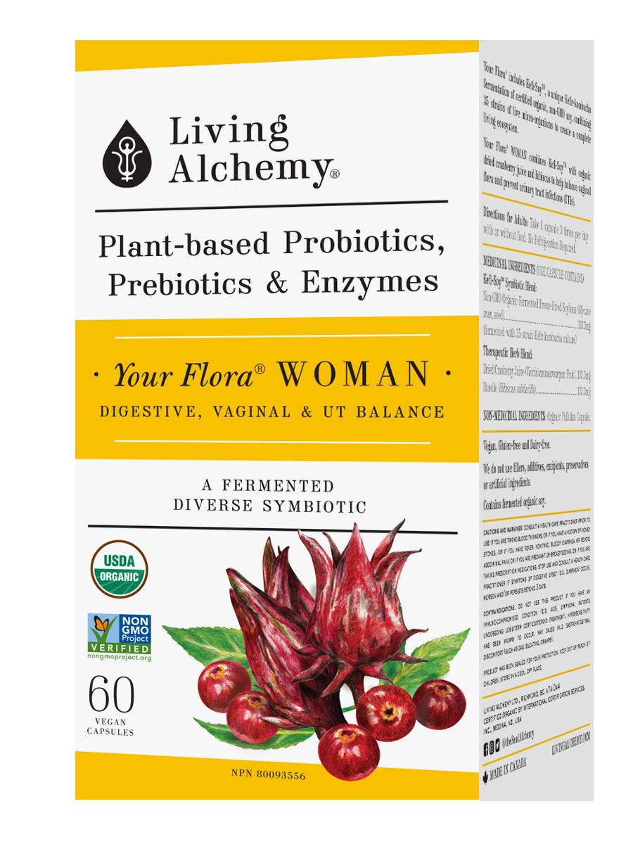 Living Alchemy Your Flora Women 60 vcaps