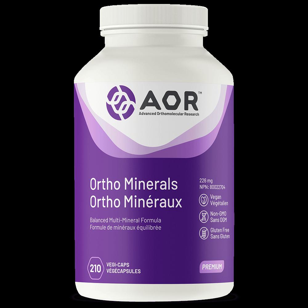 AOR Ortho Minerals – 210 Vegi-caps
