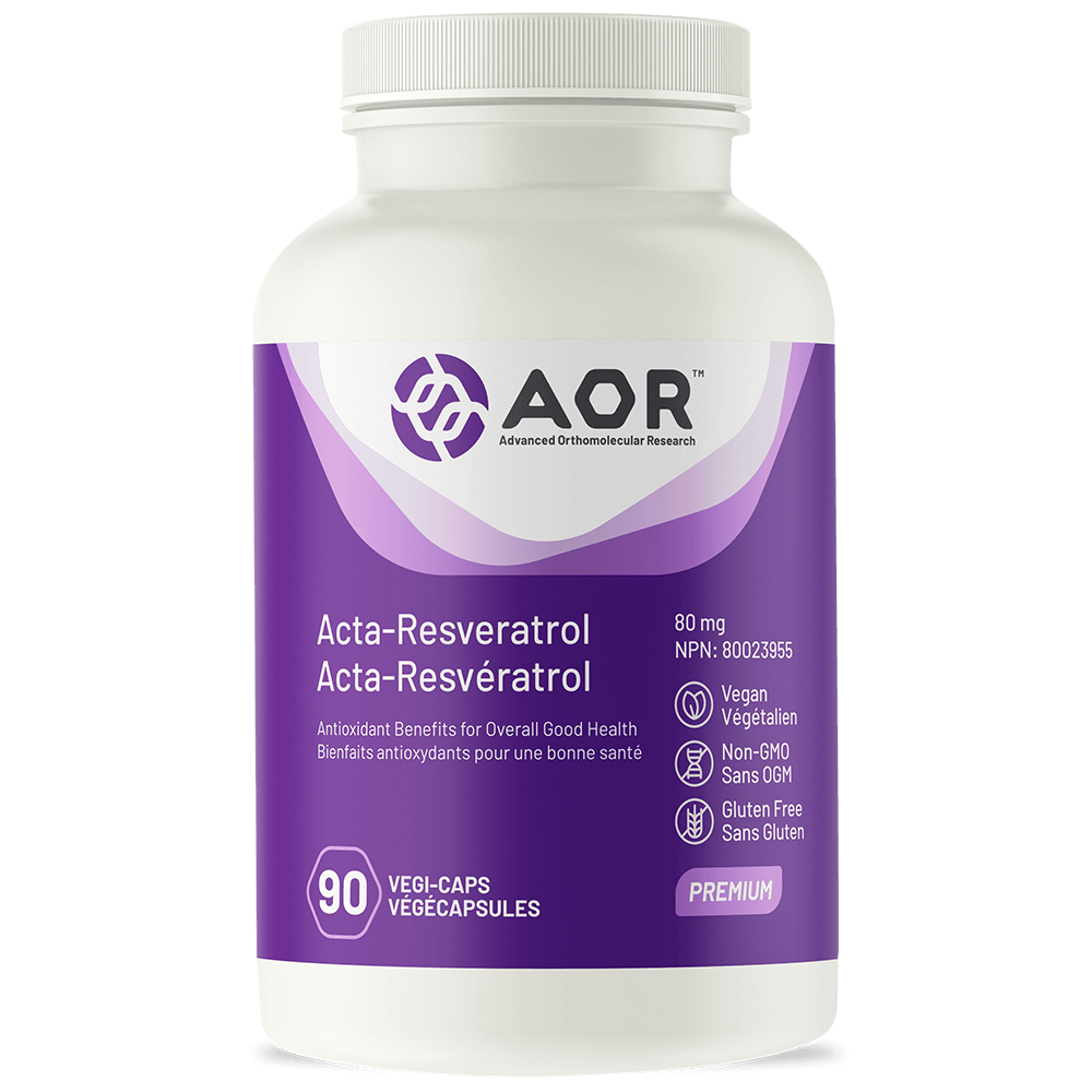 AOR Acta-Resveratrol – 90 Vegi-caps