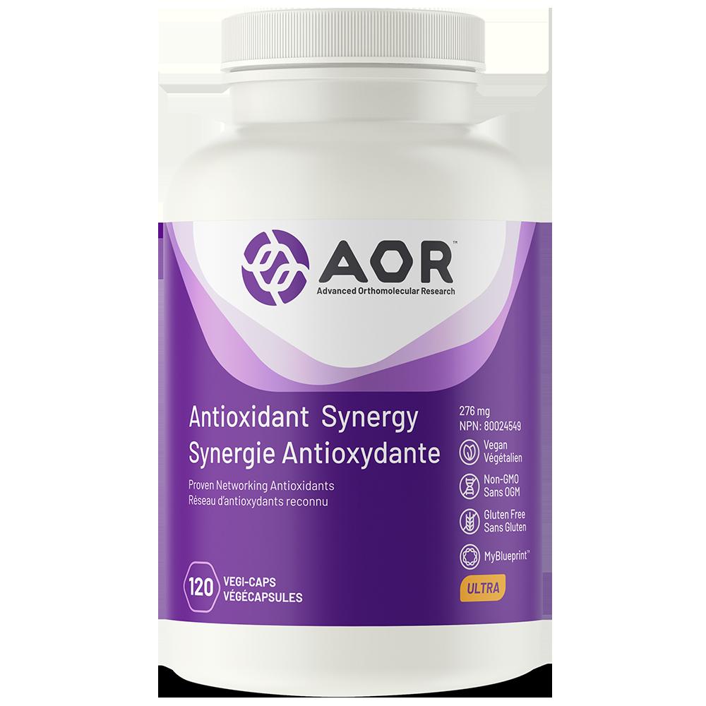 AOR Antioxidant Synergy – 120 vegi-caps