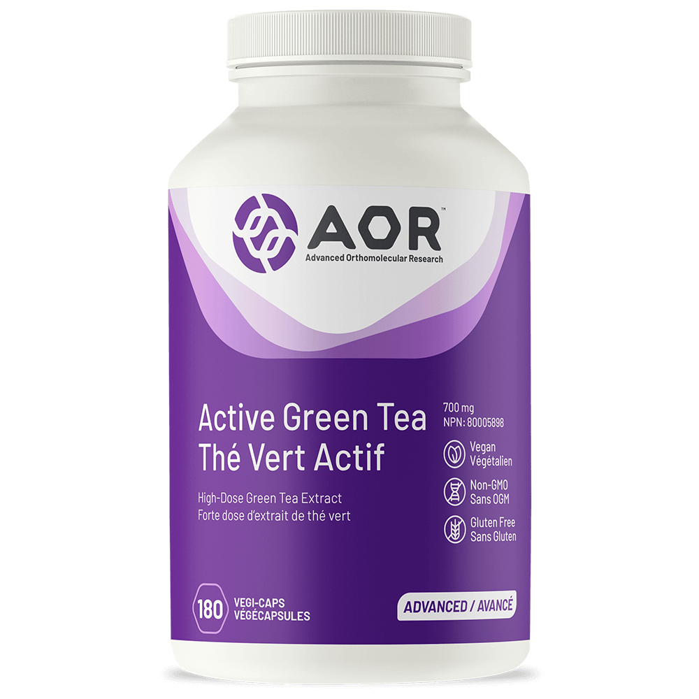 AOR Active Green Tea 700mg – 180 Vegi-caps