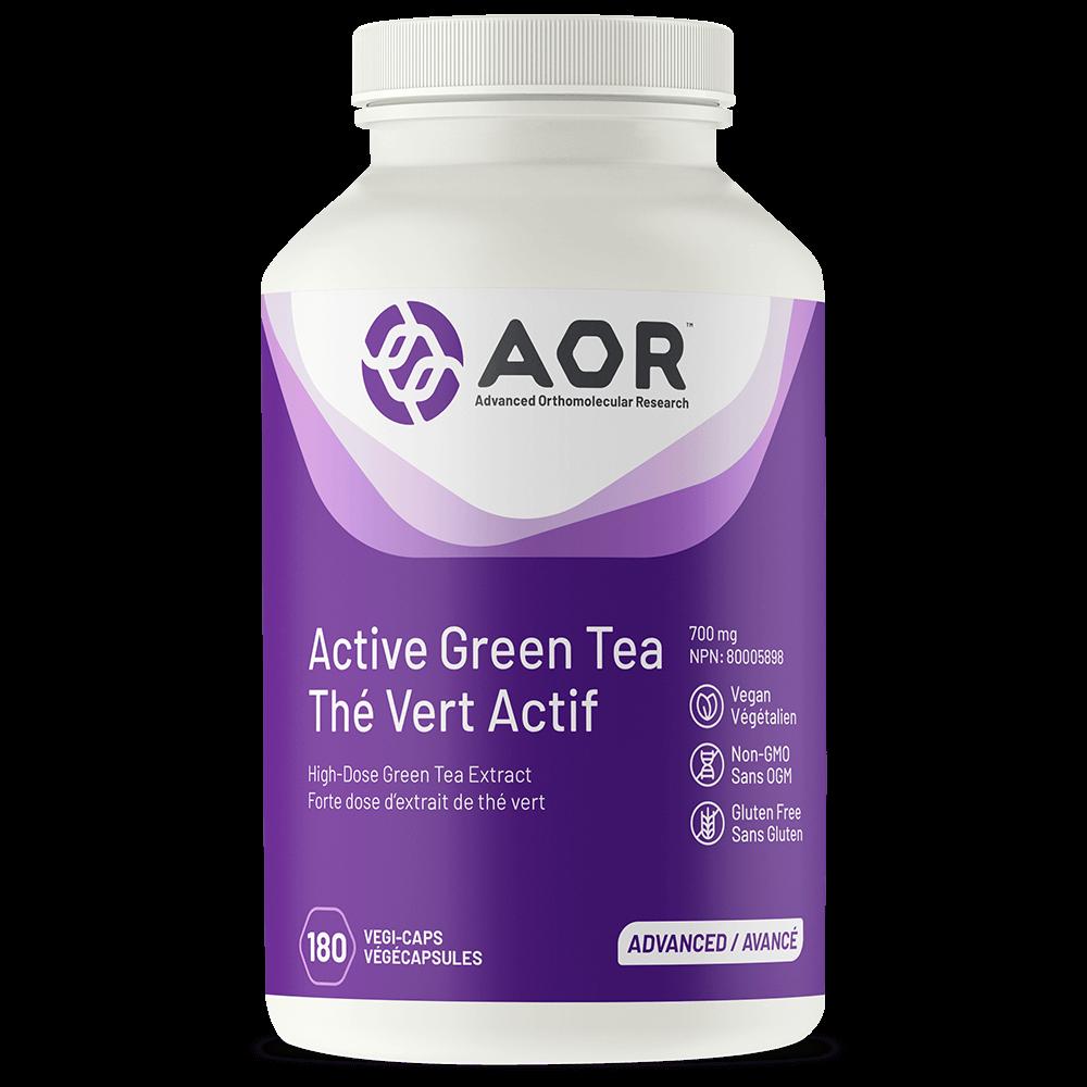AOR Active Green Tea 700mg – 90 Vegi-caps