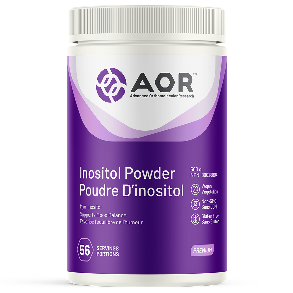 AOR Inositol Powder 500g – 56 servings