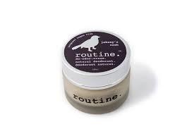 Routine Natural Deodorant  - CDN Baking Soda Free Cream Deodorant  Johnny's Cash - 58 ml