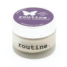 Routine Natural Deodorant  - CDN Baking Soda Free - Blackberry Betty-58ml