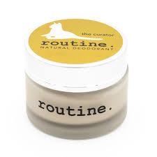 Routine Natural Deodorant  - CDN The Curator (baking soda free)-58ml