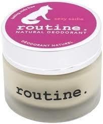 Routine Natural Deodorant  - CDN Baking Soda Free - Sexy Sadie-58ml