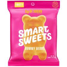 SmartSweets Fruity Gummy Bears - 50g