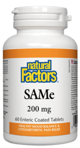 Natural Factors SAMe 200mg - 60