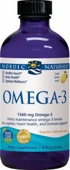 Nordic Naturals Omega – 3 Liquid Lemon Flavor – 237 mL