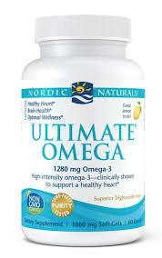 Nordic Naturals Ultimate Omega 1000mg – 120 Softgels