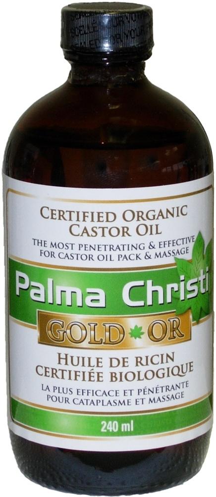 Palma Christi Organic Palma Christi GOLD Castor Oil – 240 mL
