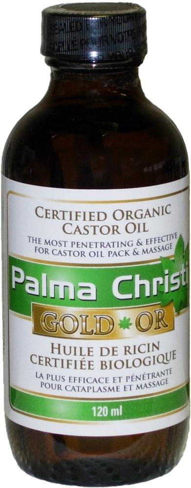 Palma Christi Organic Palma Christi GOLD Castor Oil – 120 mL