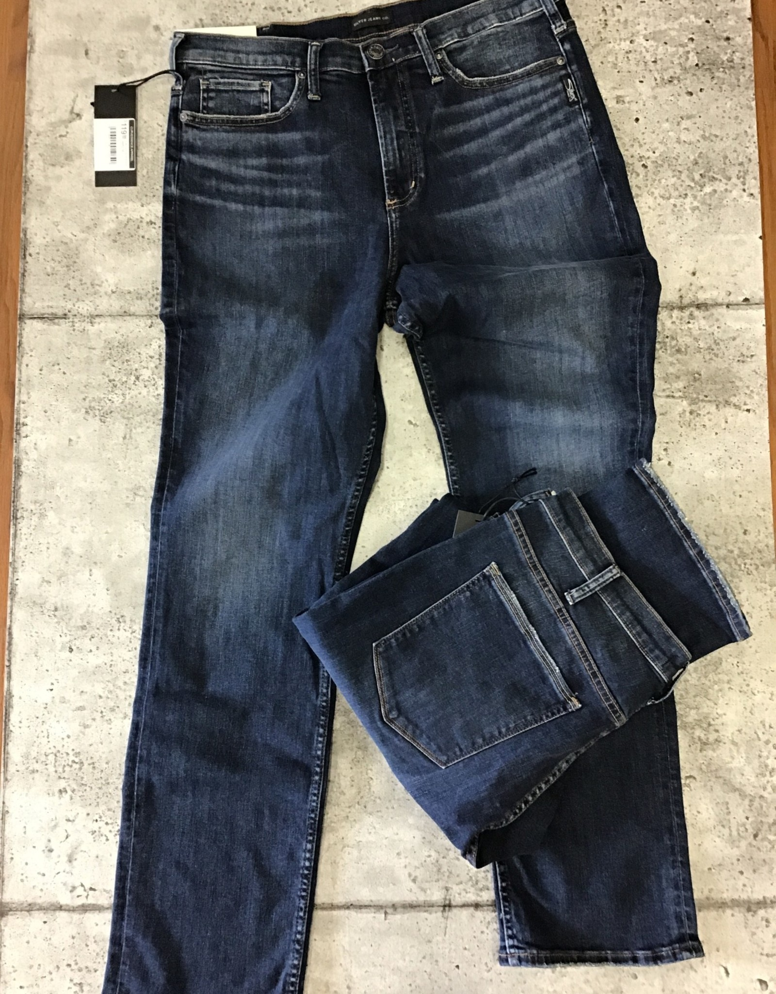 SILVER JEANS CALLEY STRAIGHT X462