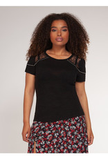 DEX LACE AND STUD TEE 1574018