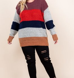 MISCELLANEOUS MULTI COLOR PULL OVER