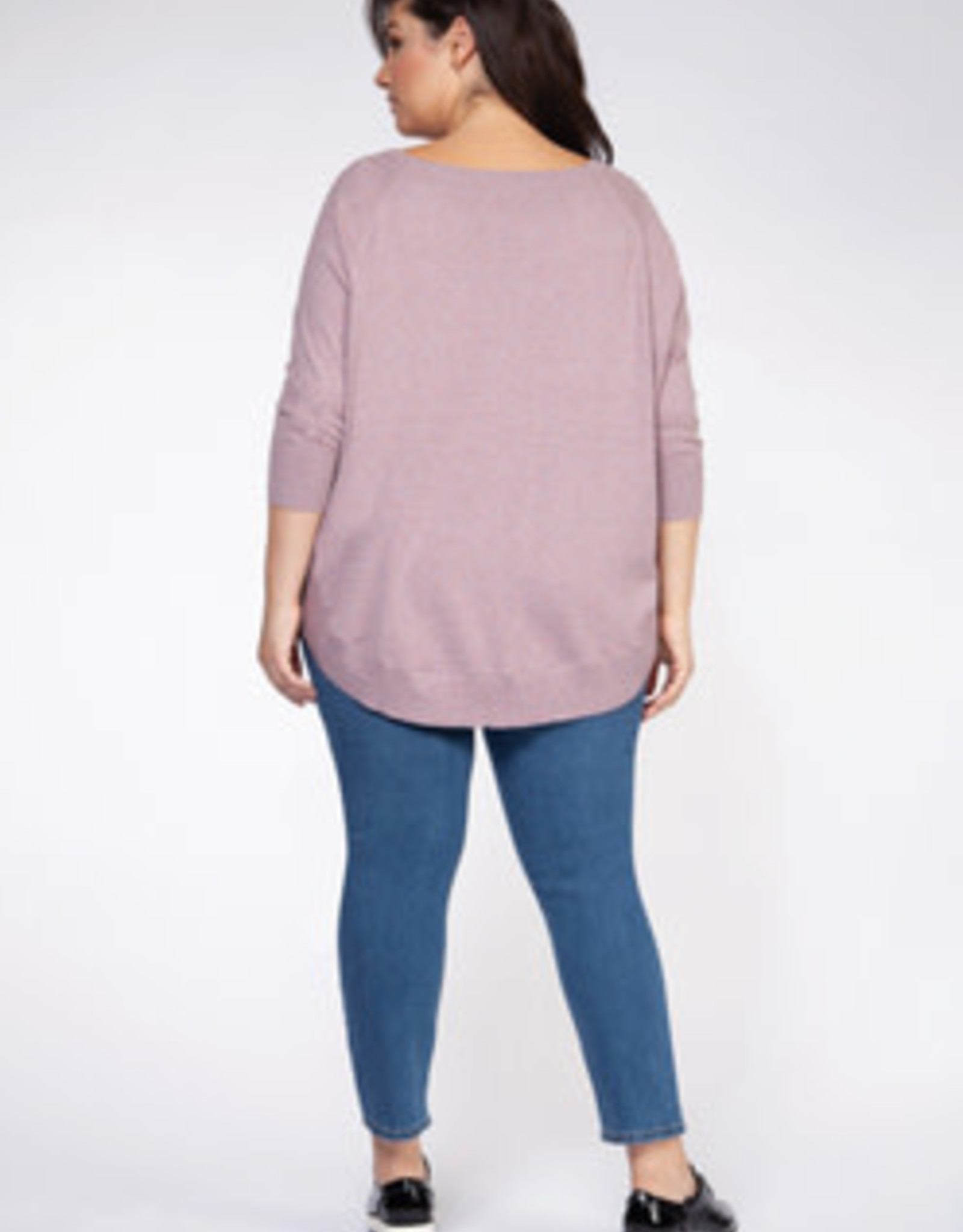 DEX CIRCLE HEM SWEATER 1677044