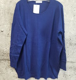 MISCELLANEOUS NAVY TUNIC SWEATER