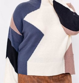 MISCELLANEOUS MOCK NECK SWEATER