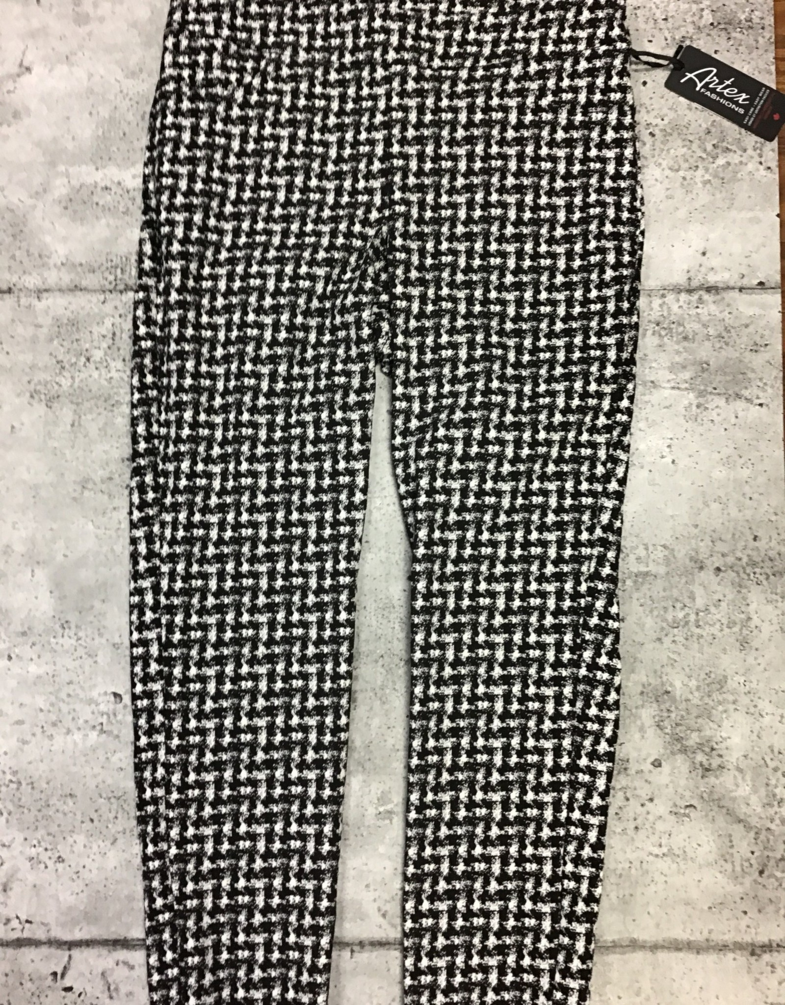 Artex HOUNDSTOOTH PULL ON PANT 9210