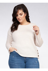 DEX BUTTON PULL OVER OATMEAL 1674009