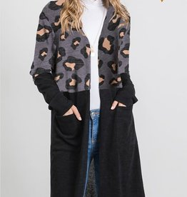 MISCELLANEOUS HEIMISH CHEETAH TOP DUSTER