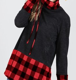 MISCELLANEOUS HEIMISH BUFFALO PLAID COWL NECK