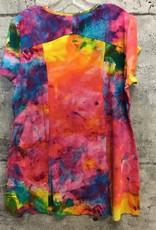 Parsley and Sage KIKO TYE DYE DRESS 21T86D