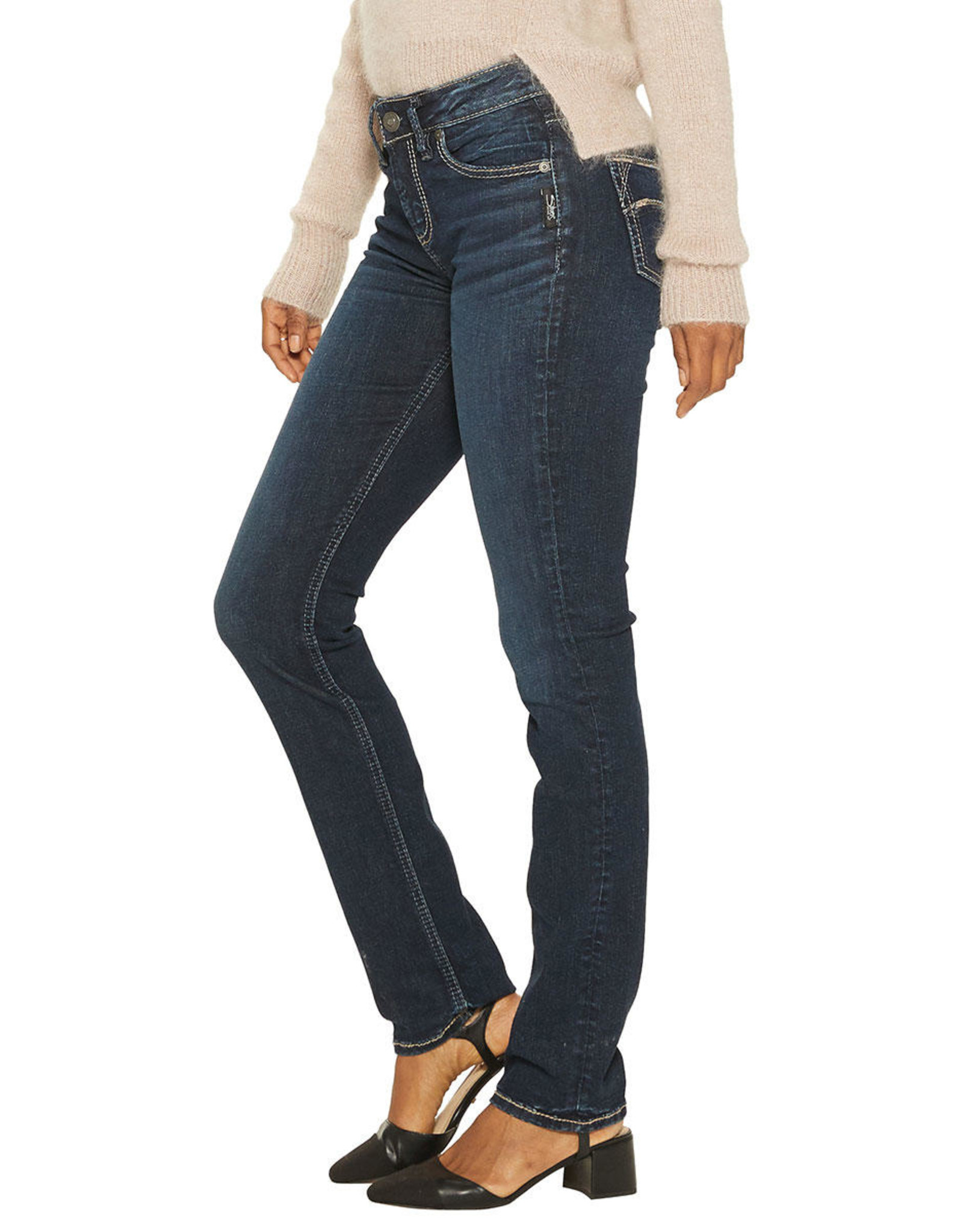 SILVER JEANS AVERY STRAIGHT X432