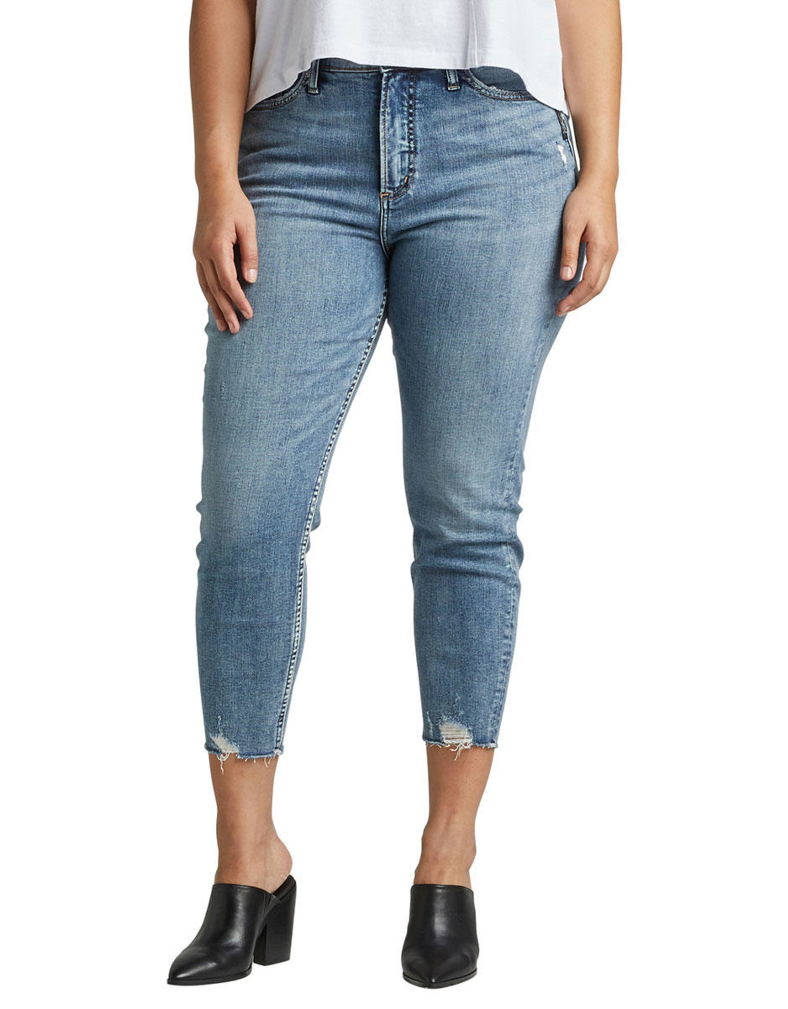 SILVER JEANS CALLEY SKINNY CROP X240