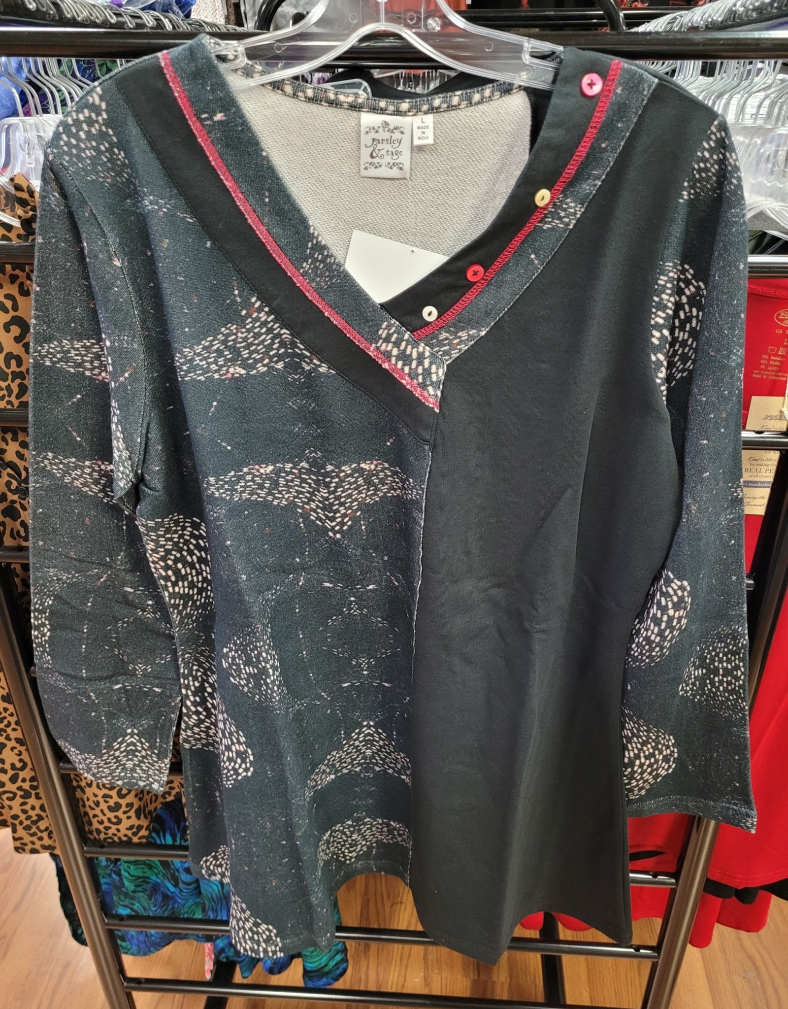 Parsley and Sage RIA TUNIC F2103T1