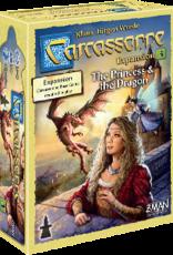 Z-Man Games Carcassonne: #3 The Princess & the Dragon