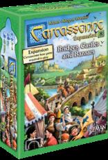 Z-Man Games Carcassonne: #8 Bridges, Castles, & Bazaars