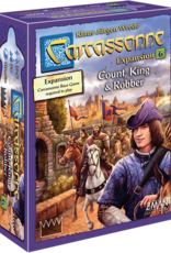 Z-Man Games Carcassonne: #6 Count, King & Robber