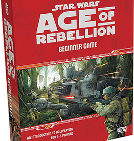Fantasy Flight Games Star Wars RPG: Age of Rebellion Beginner Game