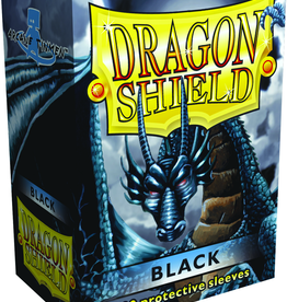 Arcane Tinmen Dragon Shields: (100) Black