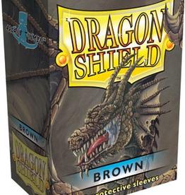 Arcane Tinmen Dragon Shields: (100) Brown