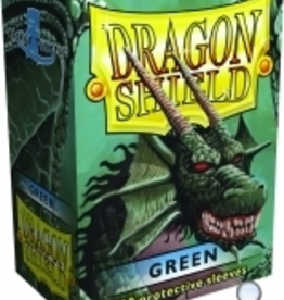 Arcane Tinmen Dragon Shields: (100) Green