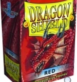 Arcane Tinmen Dragon Shields: (100) Red