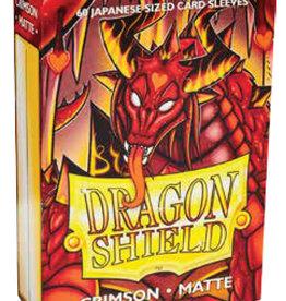 Arcane Tinmen Dragon Shields Japanese: (60) Matte Crimson