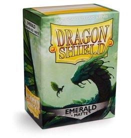 Arcane Tinmen Dragon Shields: (100) Matte Emerald