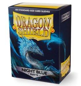 Arcane Tinmen Dragon Shields: (100) Matte Night Blue