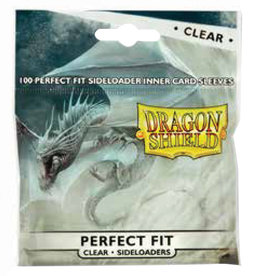 Arcane Tinmen Dragon Shields Perfect Fit: (100) Side-Loading Clear