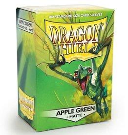 Arcane Tinmen Dragon Shields: (100) Matte Apple Green