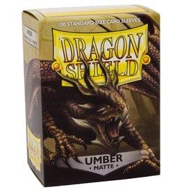 Arcane Tinmen Dragon Shields: (100) Matte Umber
