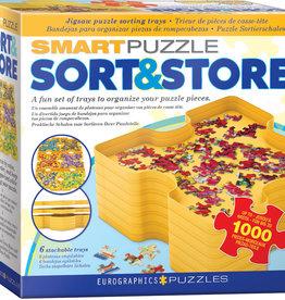 Eurographics Inc Puzzle Sort & Store Tray Set