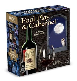 Bepuzzled Foul Play and Cabernet-Classic Mystery Jigsaw Puzzle