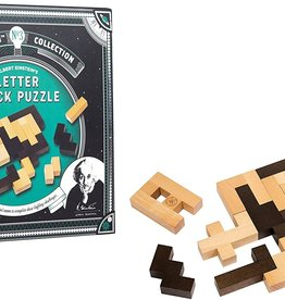 Professor Puzzle Einstein Collection Letter Block Puzzle