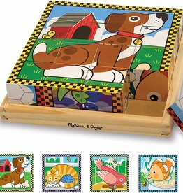 Melissa & Doug My First Cube Puzzle - Pets